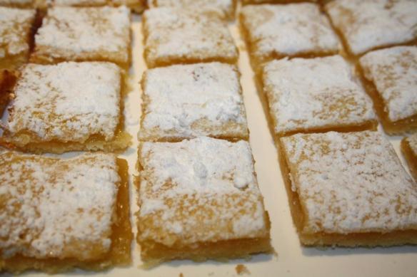 biscuits carrés citron