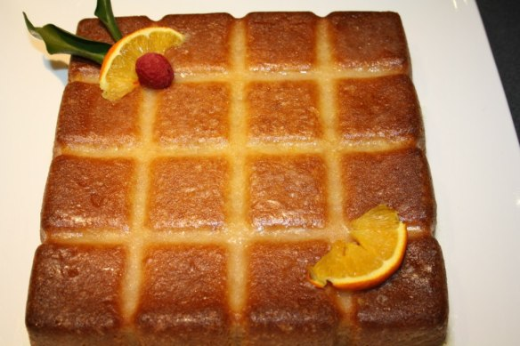 Gateau orange tablette