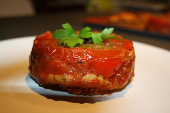Tatin de thon tomates