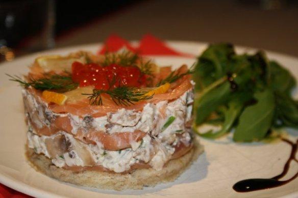 Timbale saumon