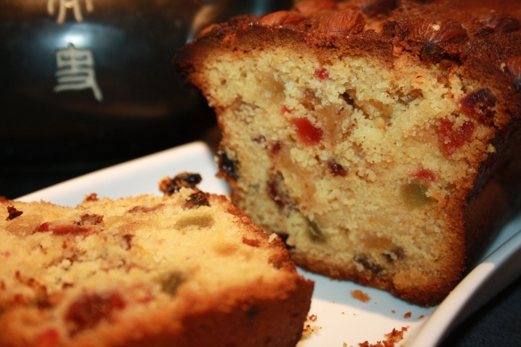 Cake aux fruits confits Dundee cake