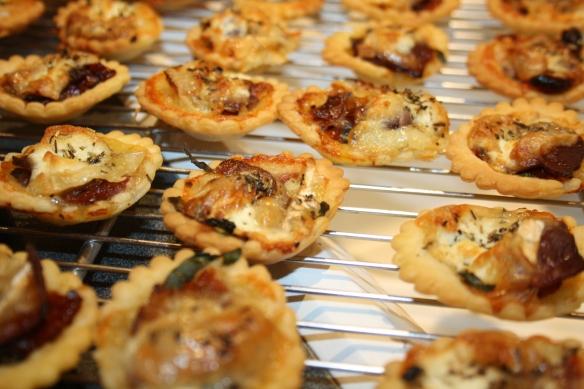 Tartelettes Tomates confites magret chèvre 3