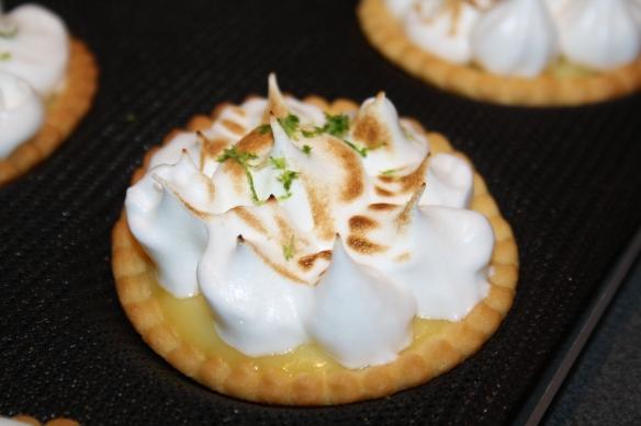 Tartelettes citron meringuées
