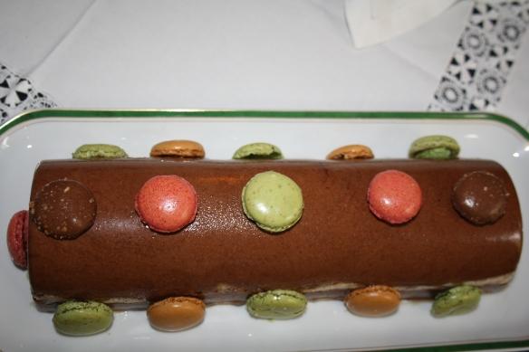 IMBûche au chocolat