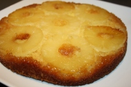 Gâteau moelleux à l'ananas