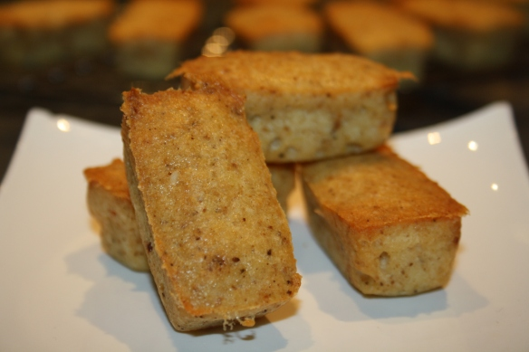 Lingots financiers aux fromages