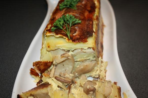 cake de pommes de terre