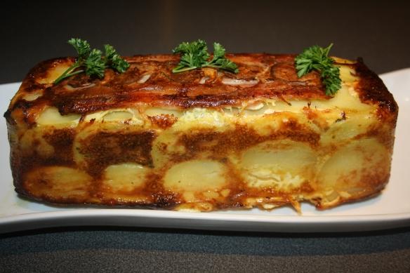 Cake de pommes de terres aux cèpes