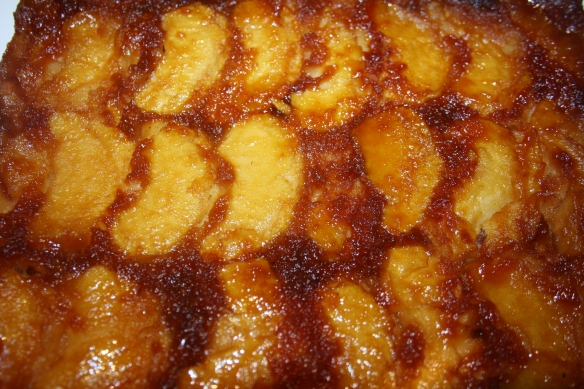 Gateau renversé aux pommes