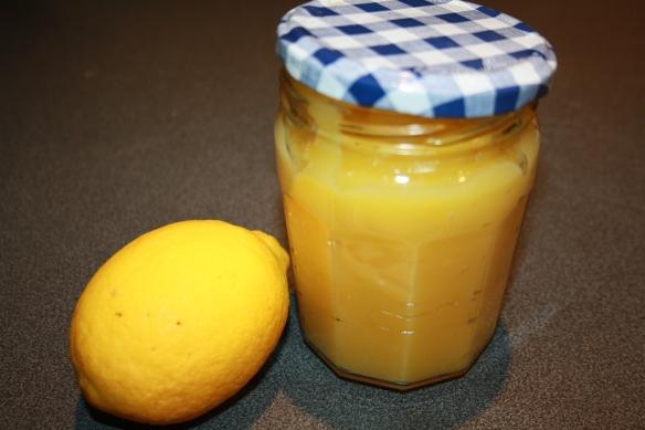 Crème citron lemon curd sans beurre