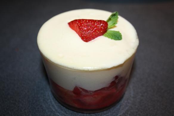 Tiramisu de fraises
