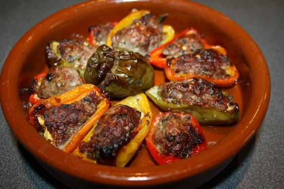 Légumes farcis en tapas