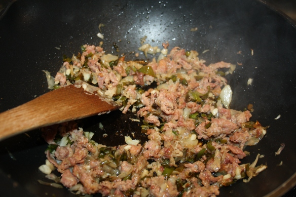Moules au jambon de Bayonne