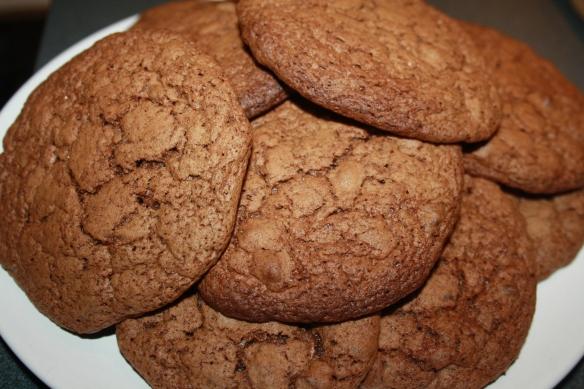 Cookies moelleux chocolat