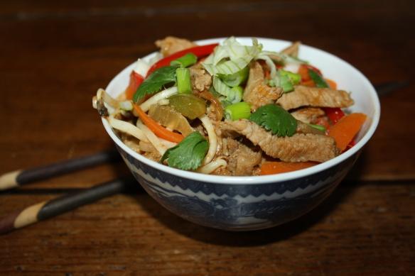 Sauté de veau au Wok aux saveurs asiatiques