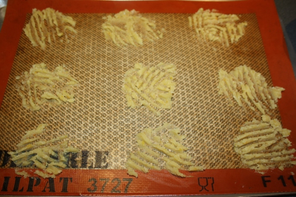 Tuiles dentelles aux agrumes